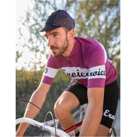 Santini Vino Kortärmad cykeltröja Herr violett/vit